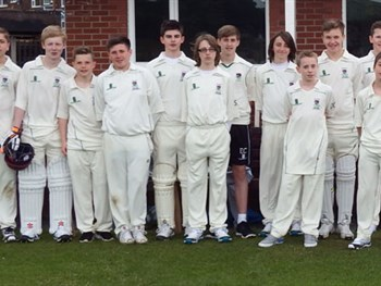 Under-14 Cricket Team beat Monkwearmouth in the QF of the County Cup