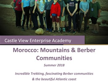 Expedition to Morocco - Summer 2018