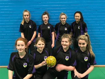 Girls Handball Competition
