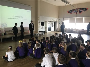 Digital Leaders visit Town End Academy 2018