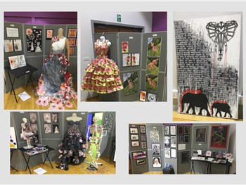 Take a look at the AMAZING Art produced from this years GCSE students...