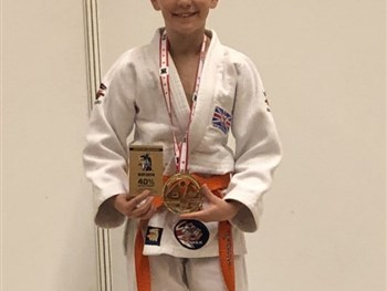 Evan wins Gold and Silver!
