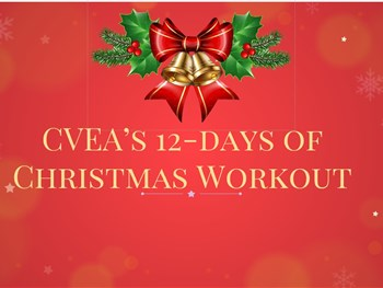CVEA 12 days of Christmas Fitness Workout Day 12