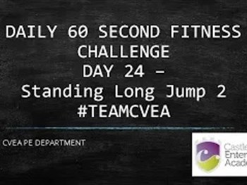 PE 60 Second Challenge Day 24