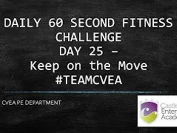 PE 60 Second Challenge Day 25