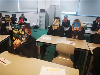 Year 7 Students receive a free book